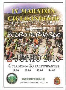 IV Maratón Ciclo Indoor Pedro Bernardo