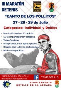 III Maratón Tenis Canto Pollitos